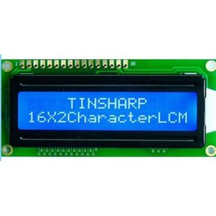 Basic 16x2 Character LCD - Golden on Green 5V