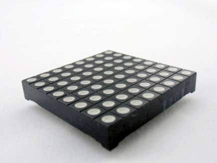 48mm Square 8*8 LED Matrix - Super Bright RGB
