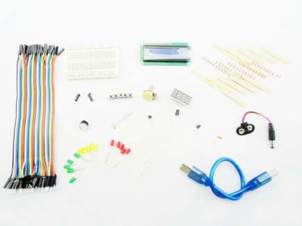 Basic Kit For Arduino (Without Arduino)