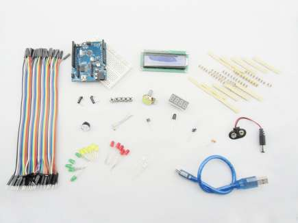 Basic Kit for Arduino (With Crowduino)