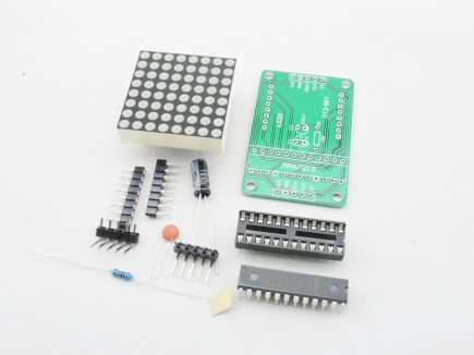 MAX7219 8x8 Matrix Display Module Kit - Red Dot