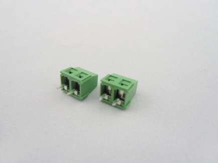 Screw Terminals 5mm Pitch - 2Pin (5pcs Pack)