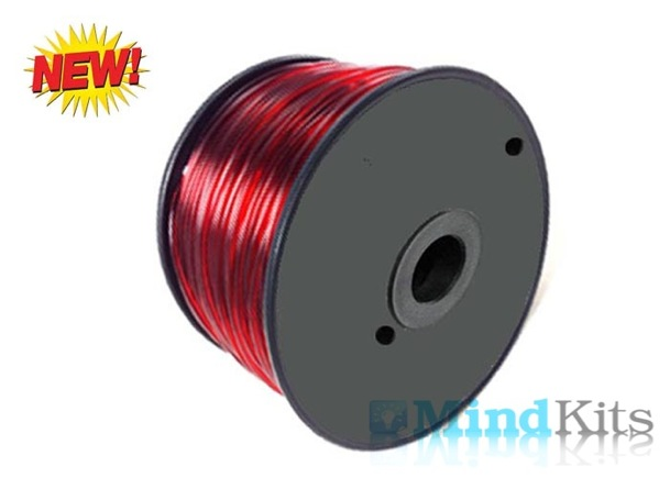 PETG T-glase filament, 1.75mm, Red, 1kg/spool