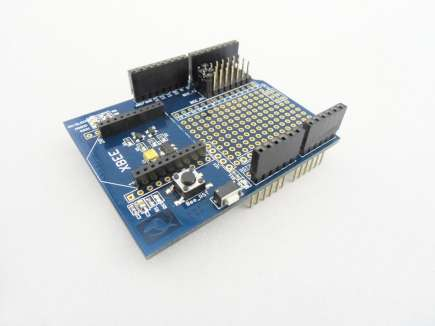 Xbee Shield For Arduino (no Xbee)