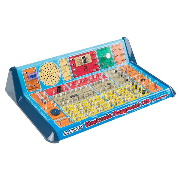 130-in-1 Electronic Playground - KIT-14314
