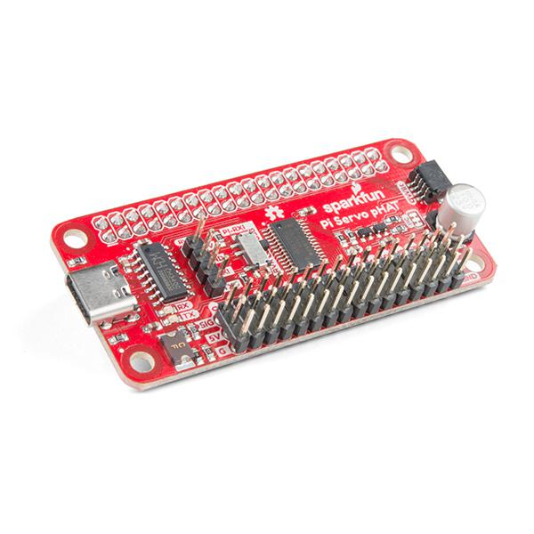 SparkFun Servo pHAT for Raspberry Pi