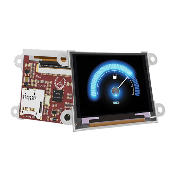 "1.7"" micro OLED Display - LCD-16012"