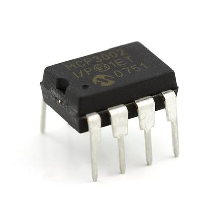 Analog to Digital Converter - MCP3002