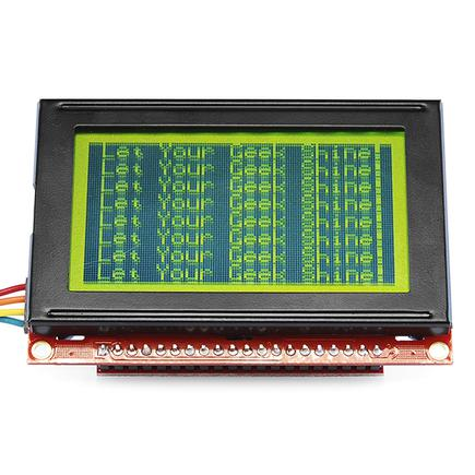 SparkFun Serial Graphic LCD 128x64