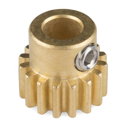 Gear - Pinion Gear (16T; 6mm Bore)