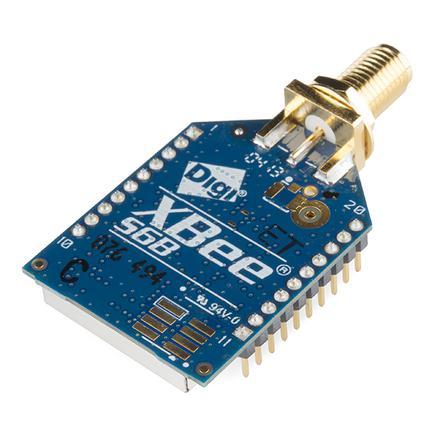 XBee Pro 63mW RPSMA - Series 2B (ZigBee Mesh) #WRL-10419