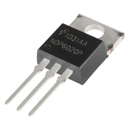 P-Channel MOSFET 20V 24A - low Vgs(th)