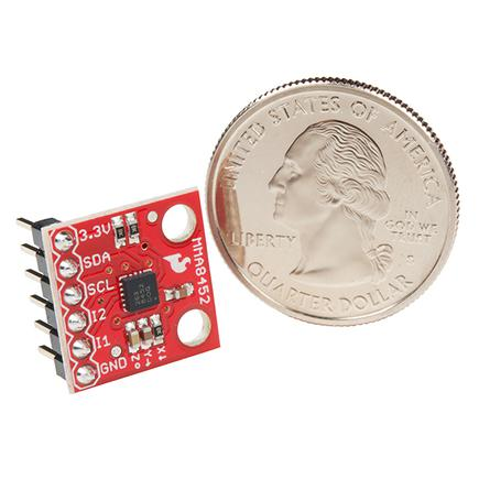 SparkFun Triple Axis Accelerometer Breakout - MMA8452Q (with Headers)