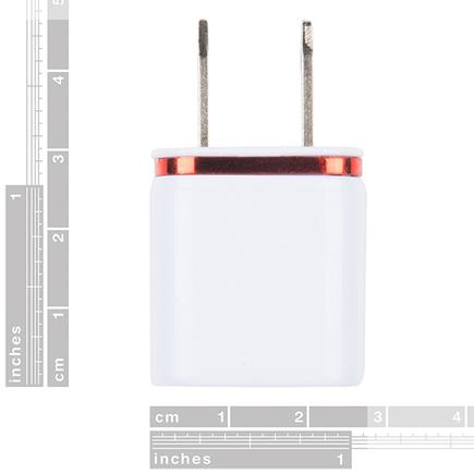 USB Wall Charger - 5V, 1A (White)