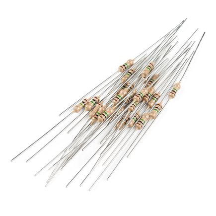 Resistor 1M Ohm 1/4 Watt PTH - 20 pack (Thick Leads)