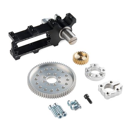 Channel Mount Gearbox Kit - 360 Rotation (2:1 Ratio)