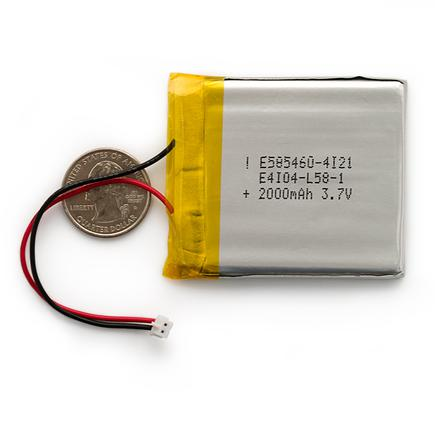 Polymer Lithium Ion Battery - 2000mAh