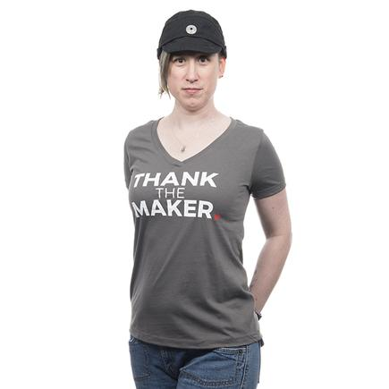 Thank the Maker Womens Tee - Small