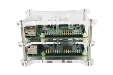 Acrylic Bracket Kit for Pi Spark Supercomputer Cluster