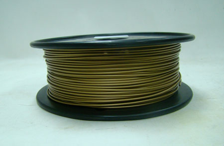 Brass filament, 3.0mm, 0.5kg/spool