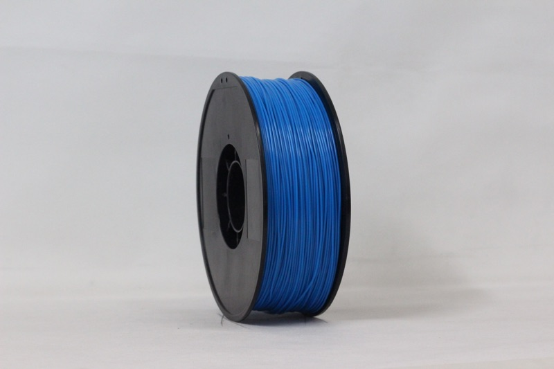 PLA filament, 3.0mm, Blue, 1kg/spool
