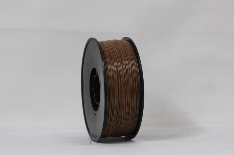 PLA filament, 1.75mm, Brown, 1kg/spool