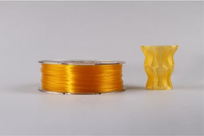 PLA filament, 3.0mm, Glass Orange, 1kg/spool - MK-PLA300GLOR