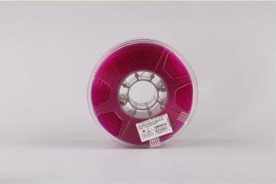 PLA filament, 3.0mm, Glass Purple, 1kg/spool