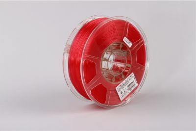 PLA filament, 3.0mm, Glass Watermelon Red, 1kg/spool