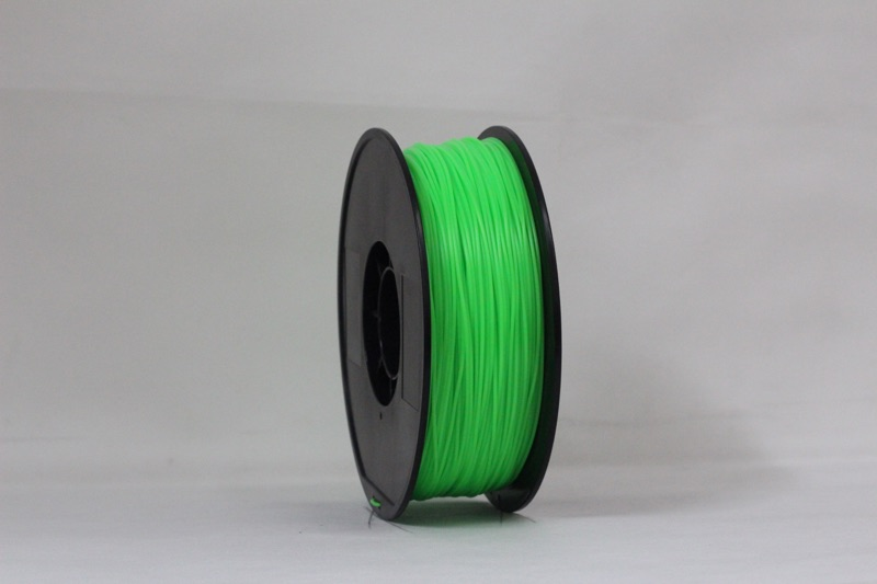 PLA filament, 3.0mm, Green, 1kg/spool