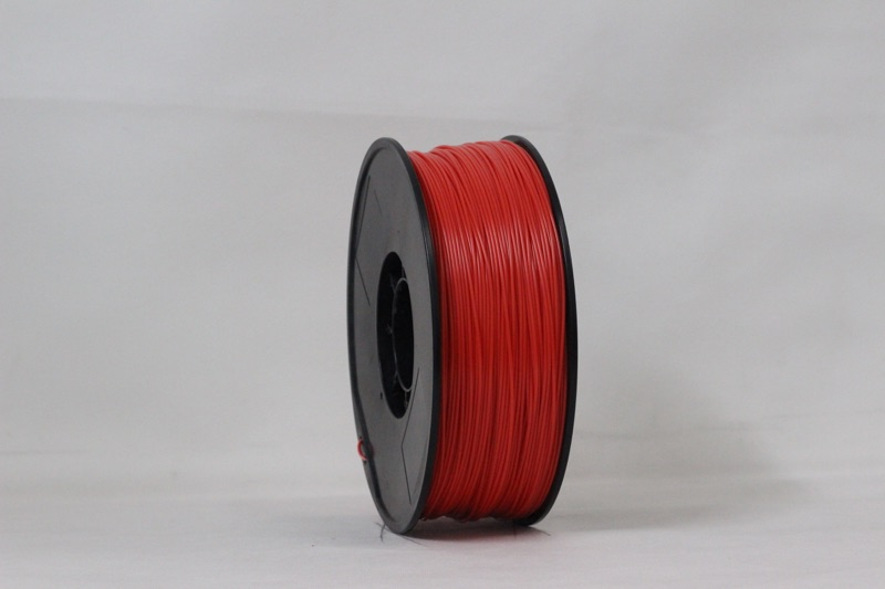 PLA filament, 3.0mm, Red, 1kg/spool