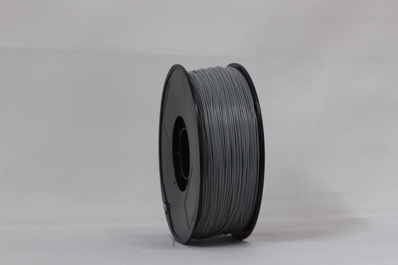 PLA filament, 1.75mm, Silver, 1kg/spool
