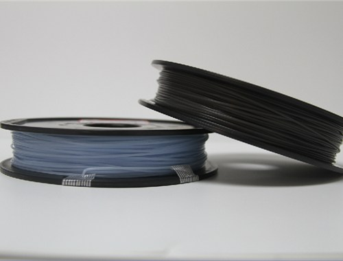 PLA filament, 2.85mm (3.0mm Compatible), Temp colour change filament - Blue to Natural, 500g/spool