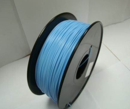 PLA filament, 3.0mm, Water Blue, 1kg/spool