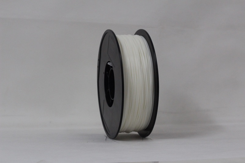 PLA filament, 3.0mm, White, 1kg/spool