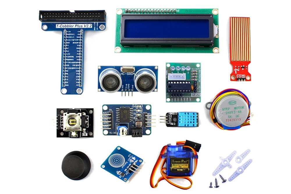 Starter kit for raspberry pi arduino el dtr k