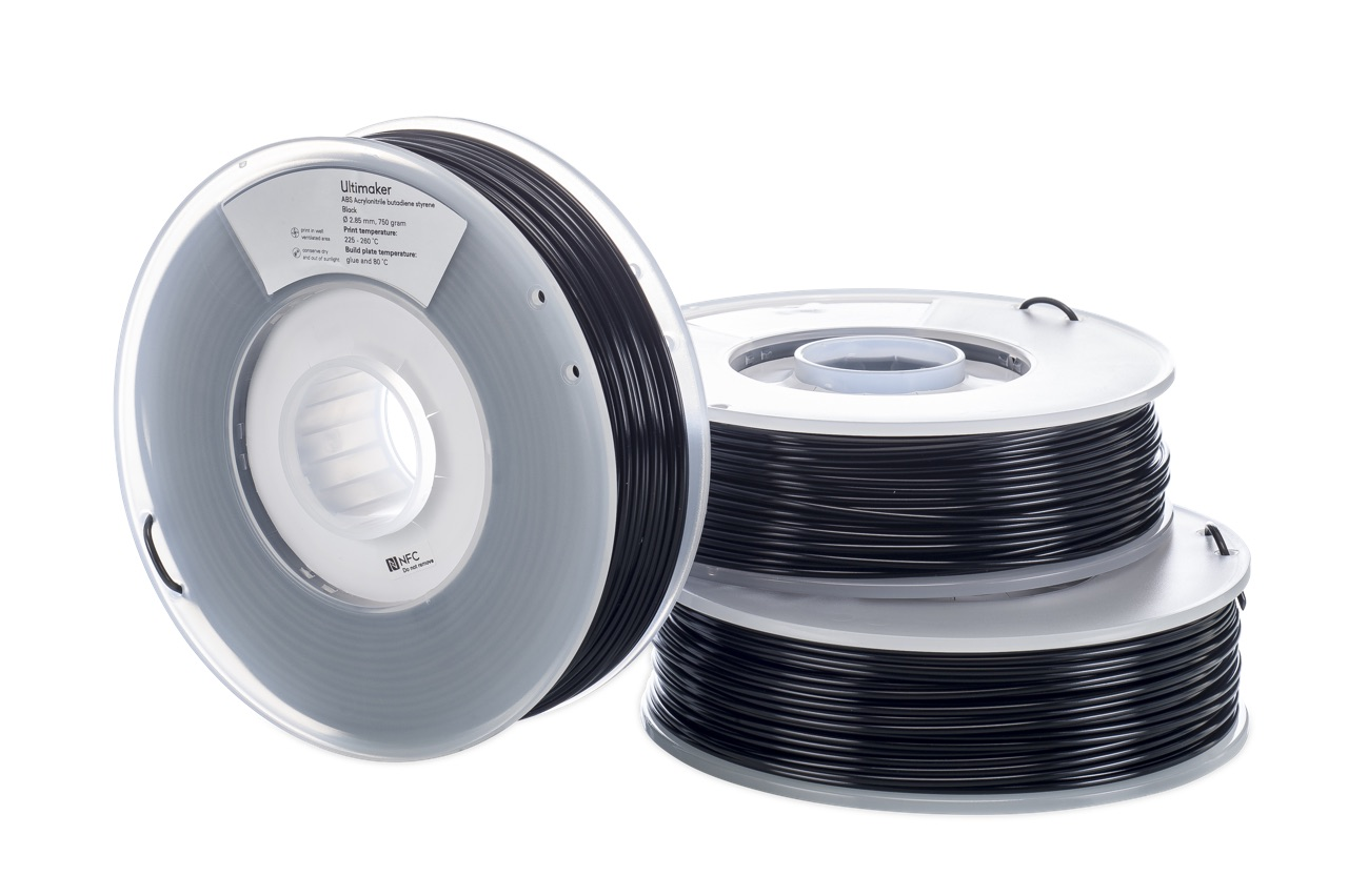 Ultimaker ABS Black 750g Spool