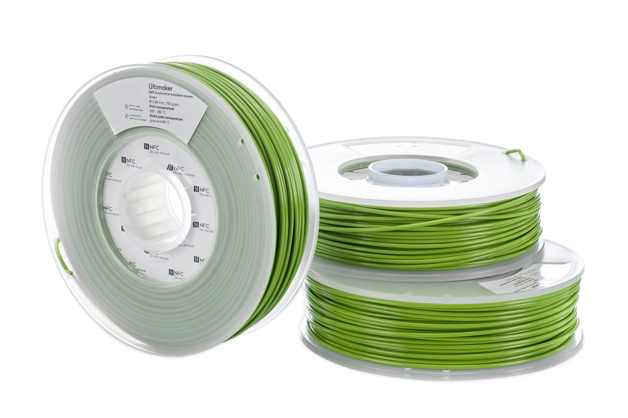 Ultimaker ABS Green 750g Spool