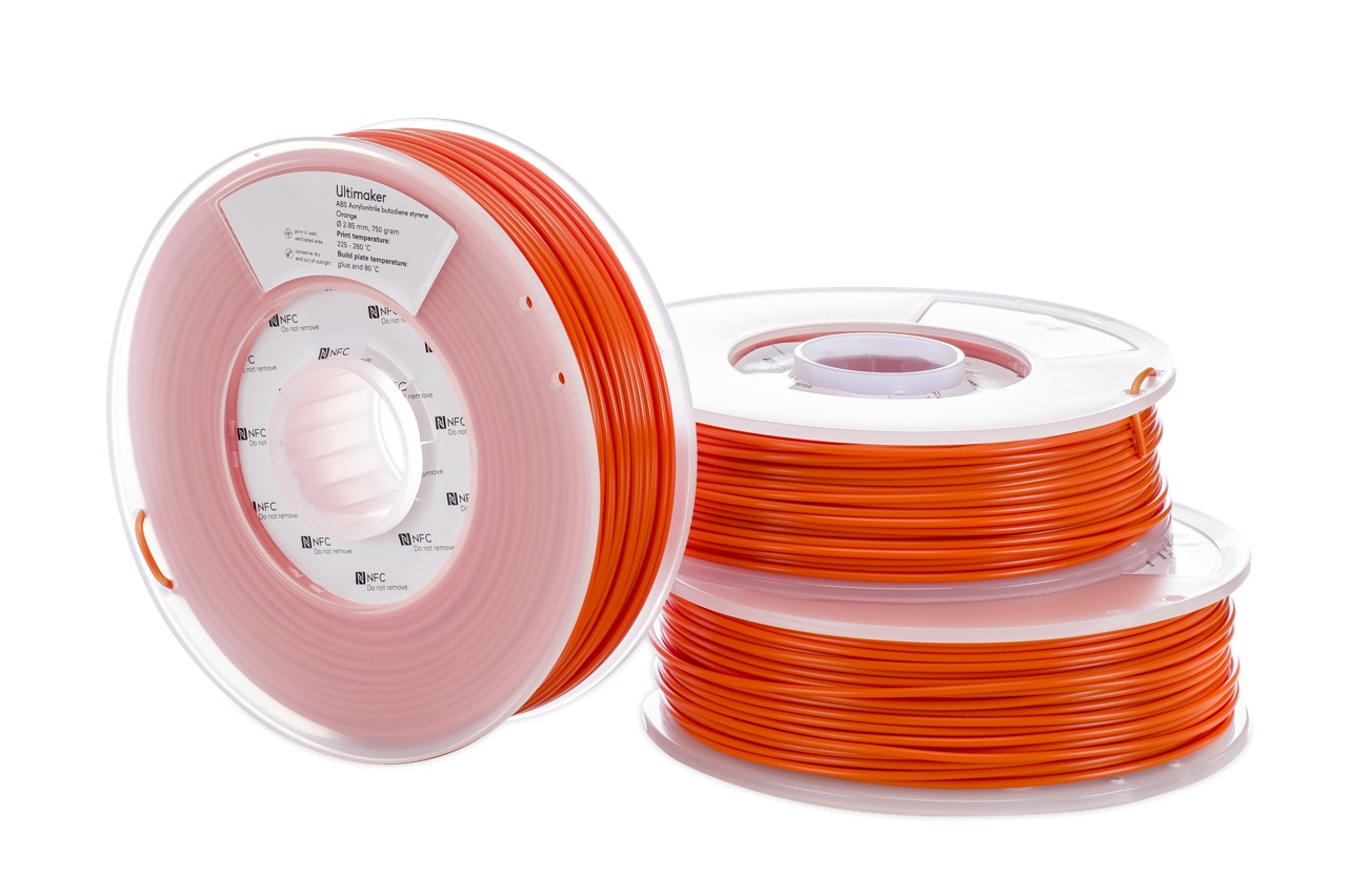 Ultimaker ABS Orange 750g Spool