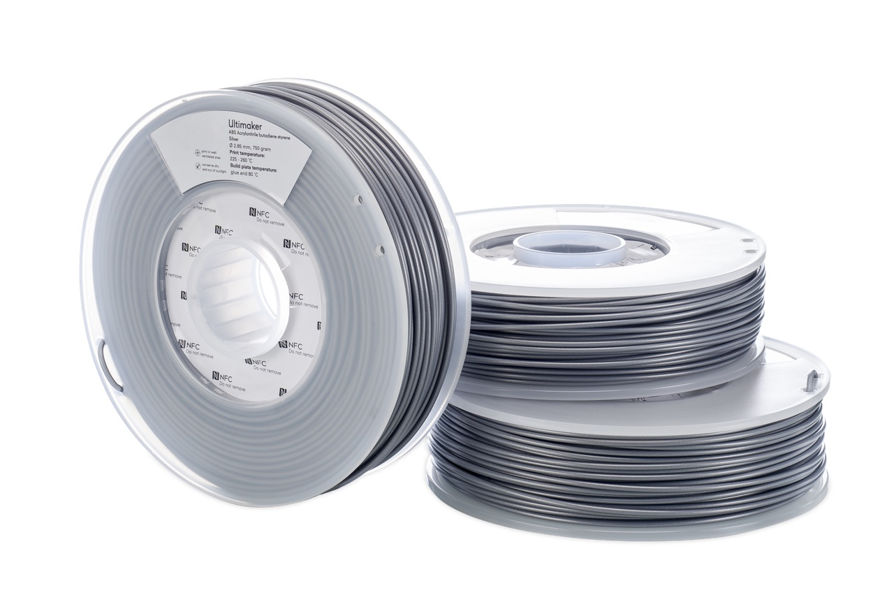 Ultimaker ABS Silver 750g Spool