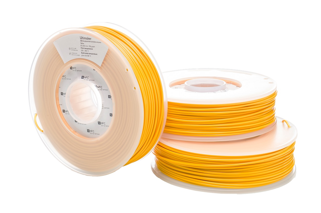 Ultimaker ABS Yellow 750g Spool