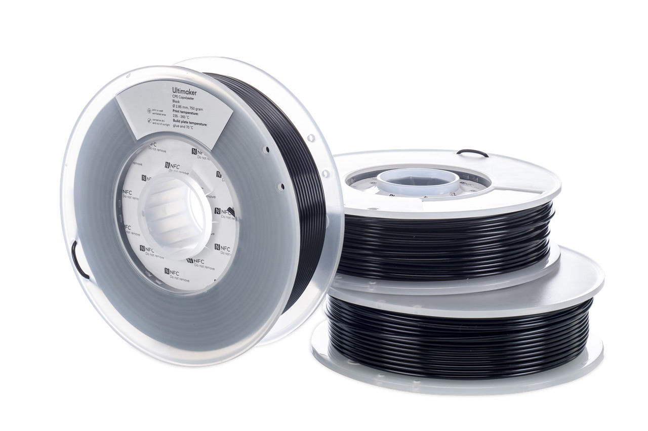 Ultimaker CPE Black 750g Spool