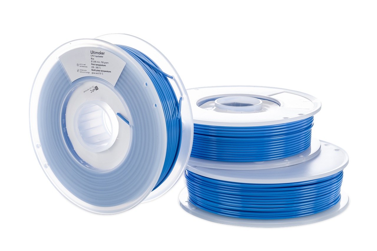 Ultimaker CPE Blue 750g Spool