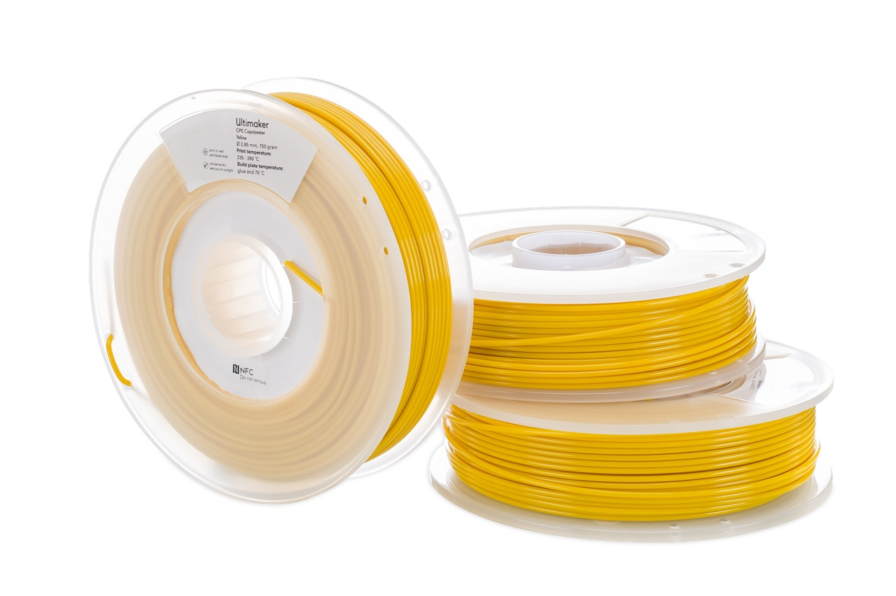Ultimaker CPE Yellow 750g Spool
