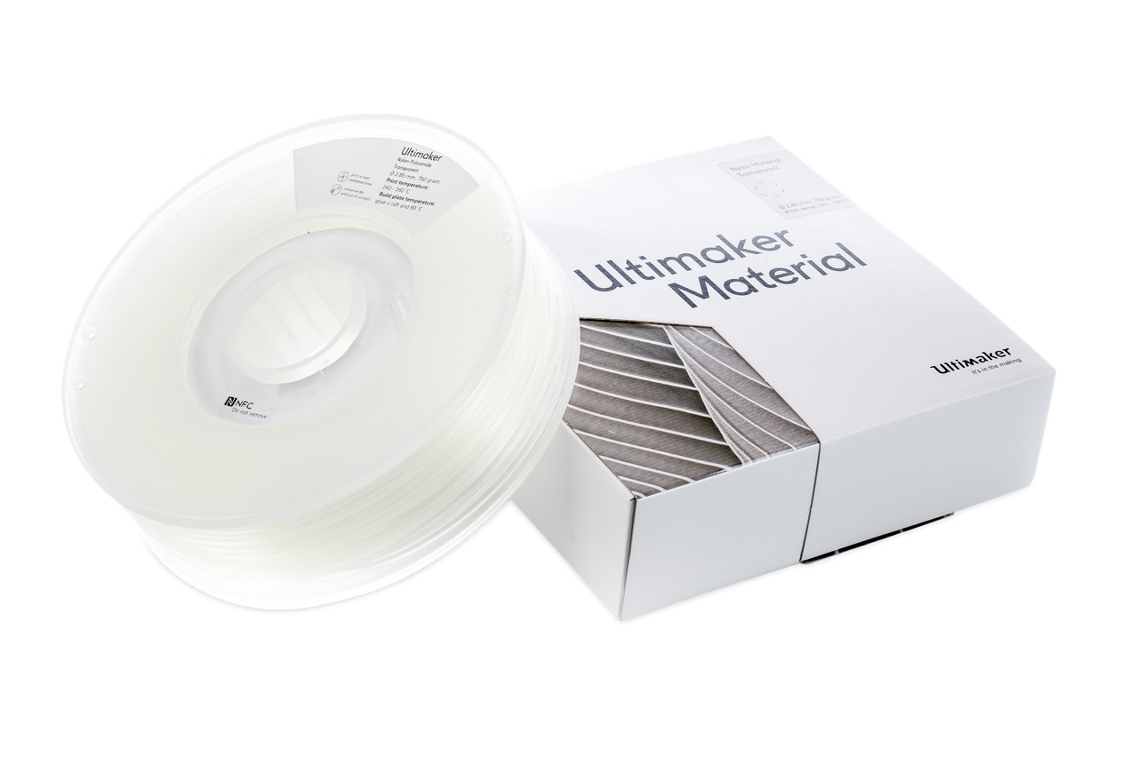 Ultimaker PA Transparent 750g Spool - UM-1647