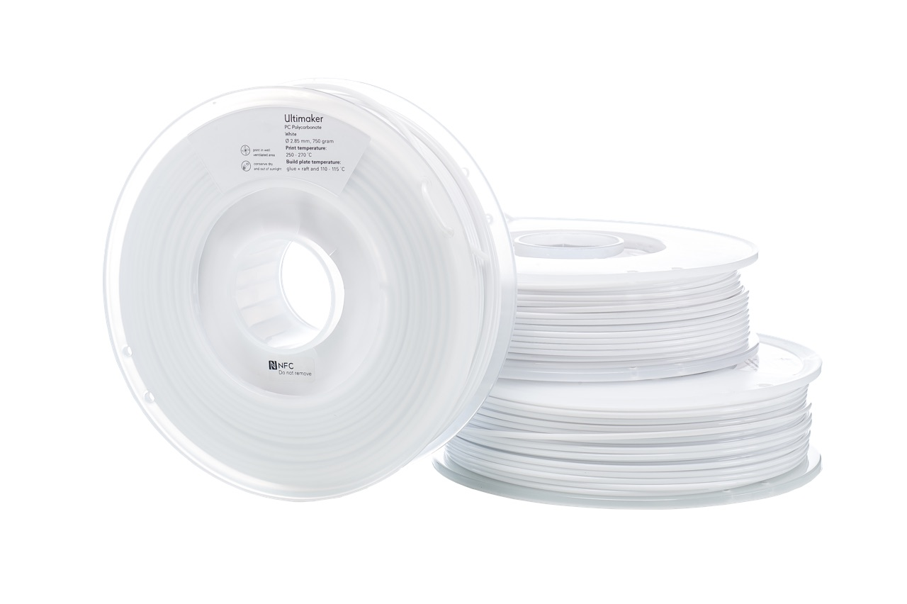 Ultimaker PCA White 750g Spool