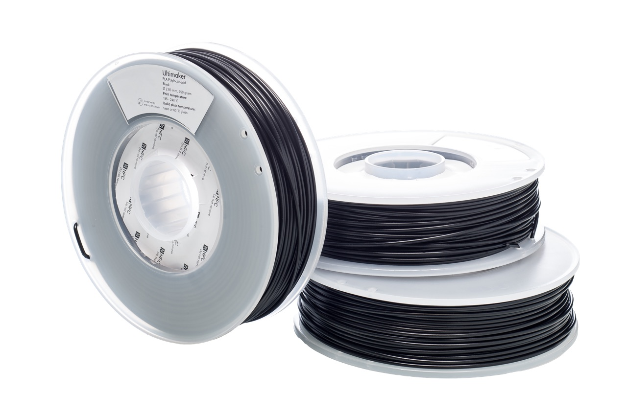Ultimaker PLA Black 750g Spool