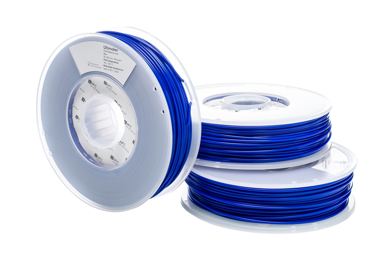 Ultimaker PLA Blue 750g Spool