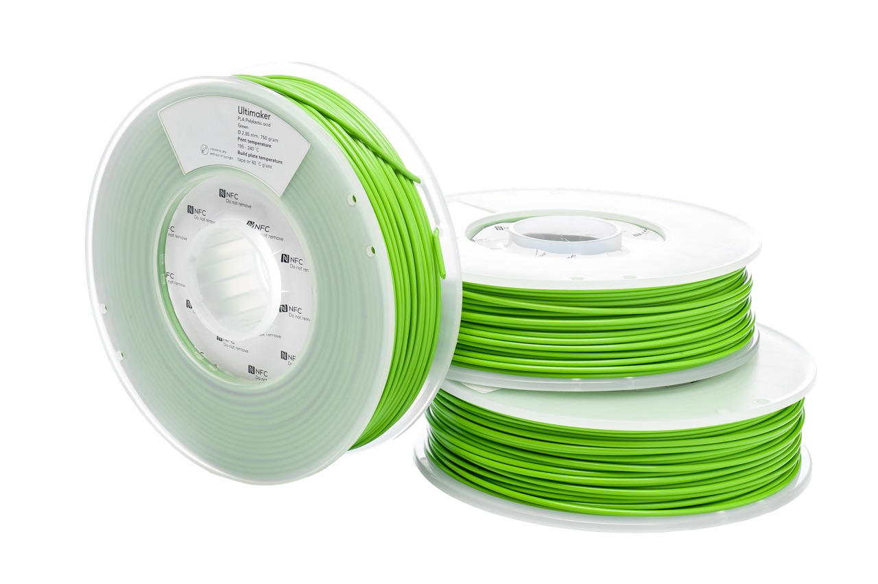 Ultimaker PLA Green 750g Spool