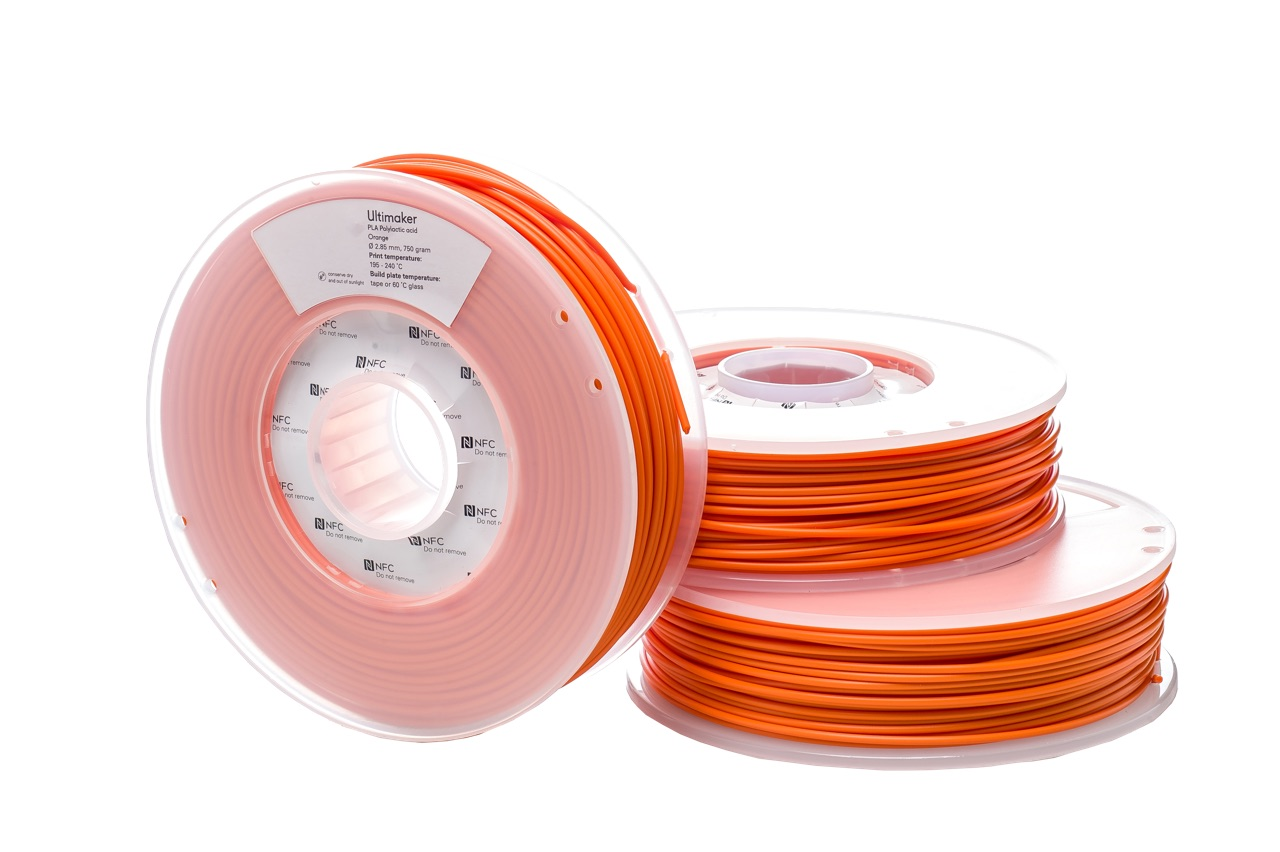 Ultimaker PLA Orange 750g Spool
